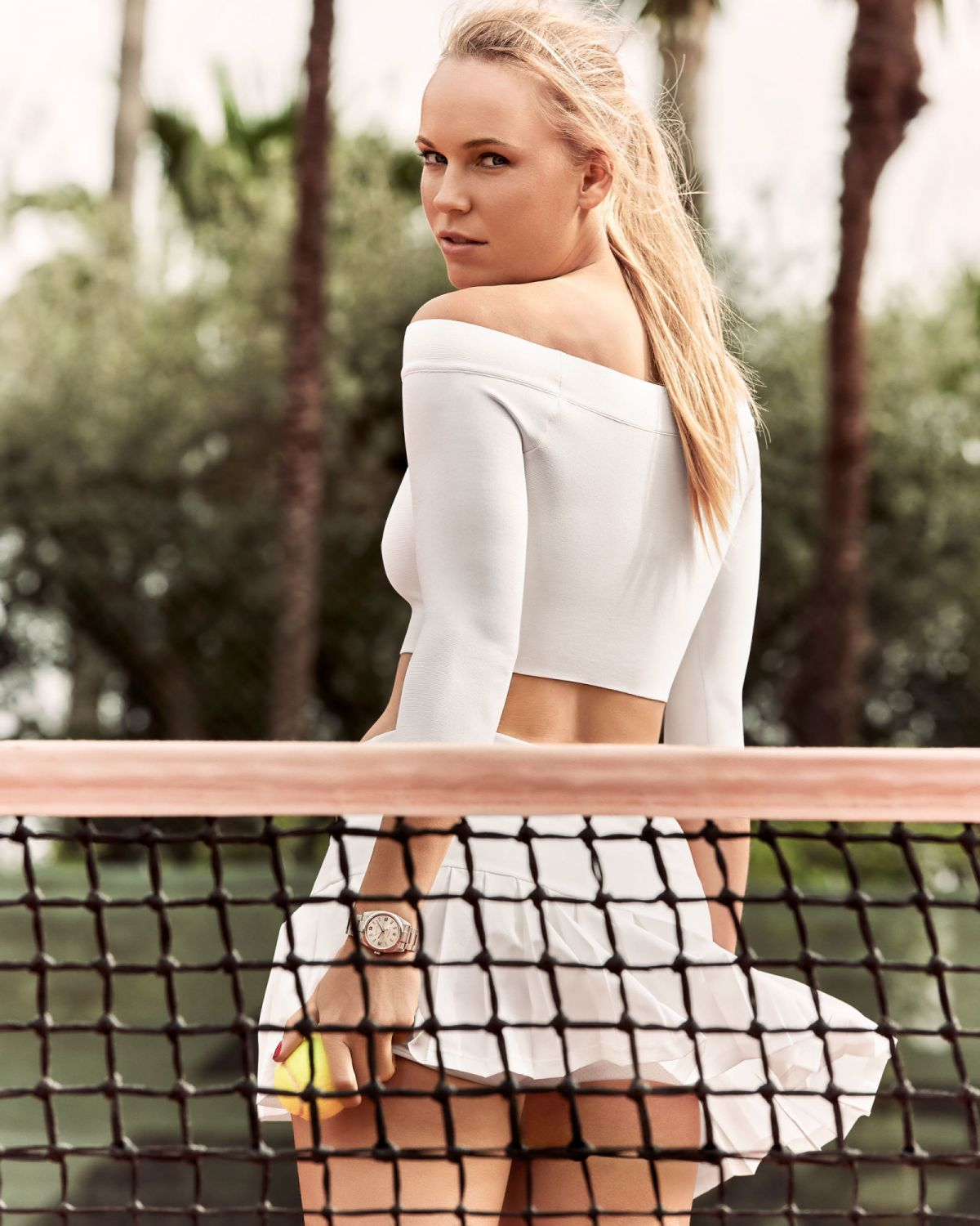 CAROLINE WOZNIACKI in Esquire Magazine, June/July 2016 Issue