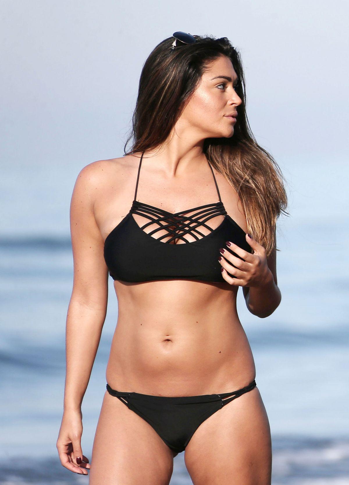 CASEY BATCHELOR in Bikini at a Beach in Marbella 06/21/2016