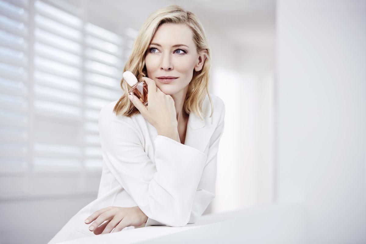 CATE BLANCHETT for Giorgio Armani Si Eau De Toilette ... Cate Blanchett