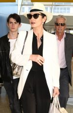 CATHERINE ZETA JONES at JFK Airport in New York 06/14/2016