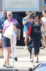 CATHERINE ZETA JONES Out  in Saint Laurent du Var 06/23/2016