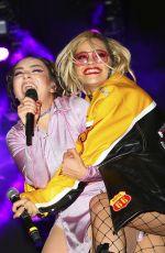 CHARLI XCX and RITA ORA at LA Pride Music Festival in Los Angeles 06/11/2016