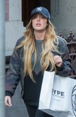 CHARLOTTE CROSBY Out Shopping in Melbourne 06/15/2016