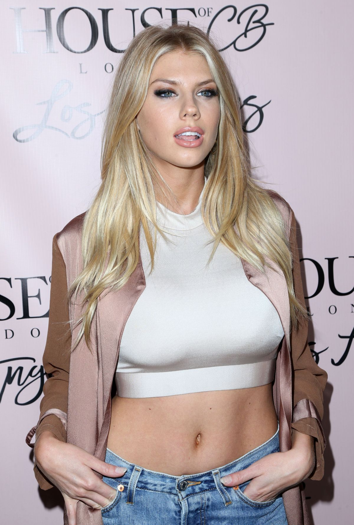 CHARLOTTE MCKINNEY at House of CB Flagship Store Launch in West Hollywood 06/14/2016