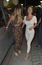 CHATELLE CONNELLY and HOLLY HAGAN at