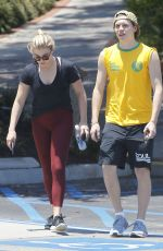 CHLOE MORETZ and Brooklyn Beckham Out in Los Angeles 06/26/2016