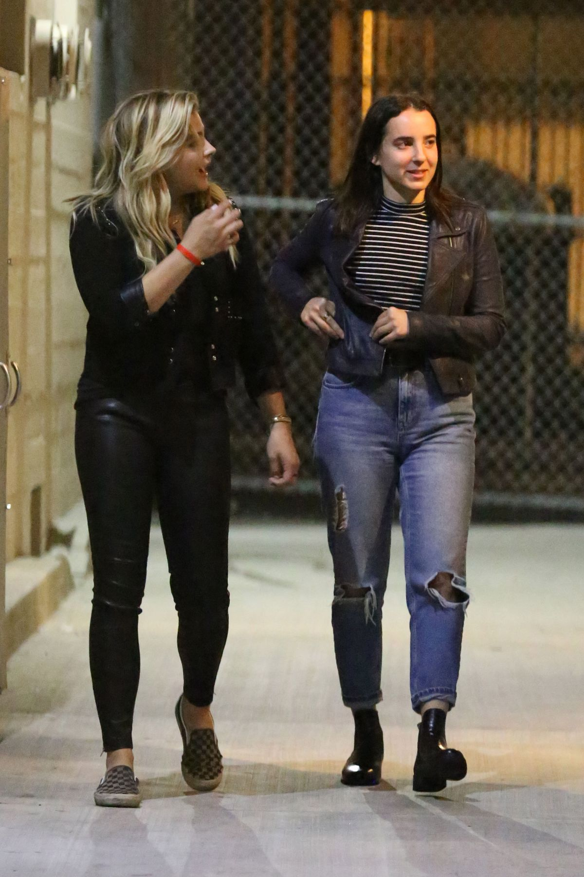 db8eb2dc9c CHLOE MORETZ and MEGHAN TRAINOR at Warwick Nightclub in Hollywood 06/15/2016