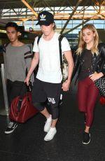 CHLOE MORETZ at JFK Airport in New York 06/29/2016