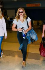 CHLOE MORETZ at JFK AIrport in New Yotk 06/27/2016