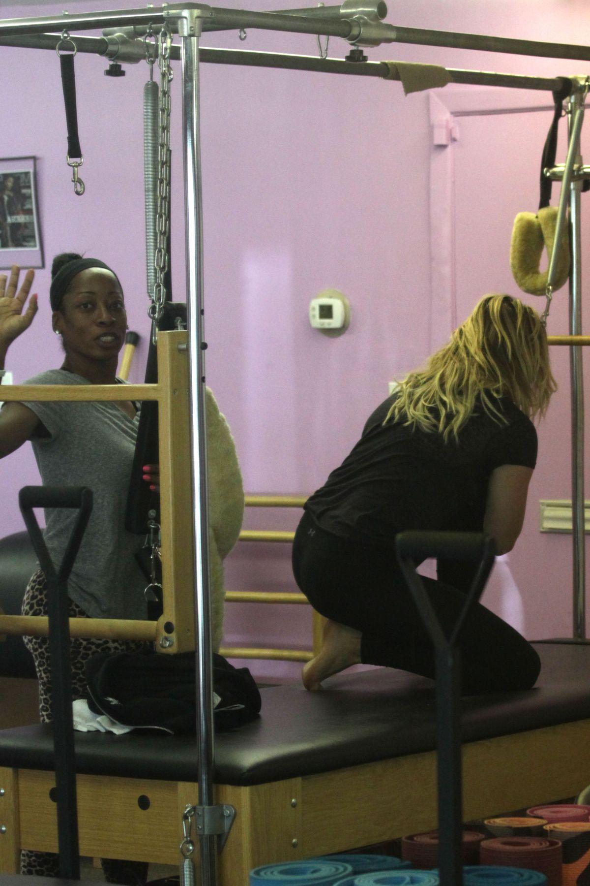 Chloe Moretz At Pilates Class In Los Angeles 06182016 Hawtcelebs