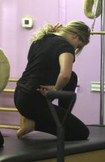 CHLOE MORETZ at Pilates Class in Los Angeles 06/18/2016