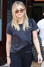 CHLOE MORETZ Leaves Her Hotel in New York 06/24/2016