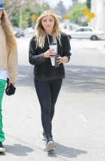 CHLOE MORETZ Out for Coffe in Los Angeles 06/06/2016