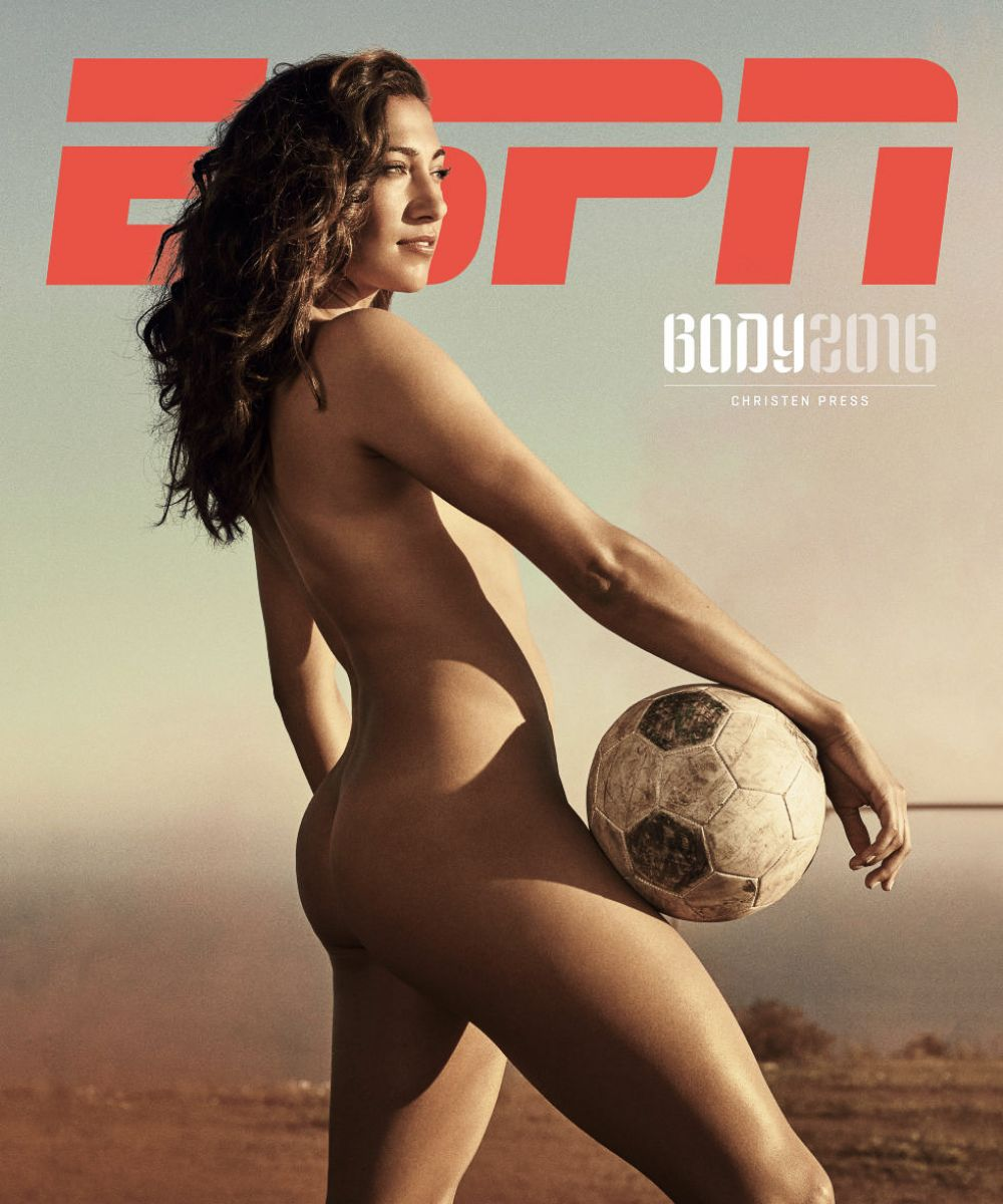 CHRISTEN PRESS in ESPN: The Body Issue