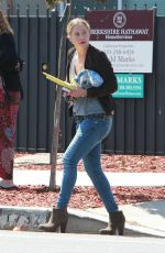 CHRISTINA APPLEGATE Out and About in Los Angeles 06/24/2016