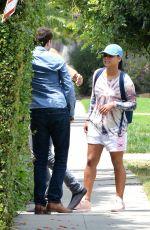 CHRISTINA MILIAN Leaves Friend