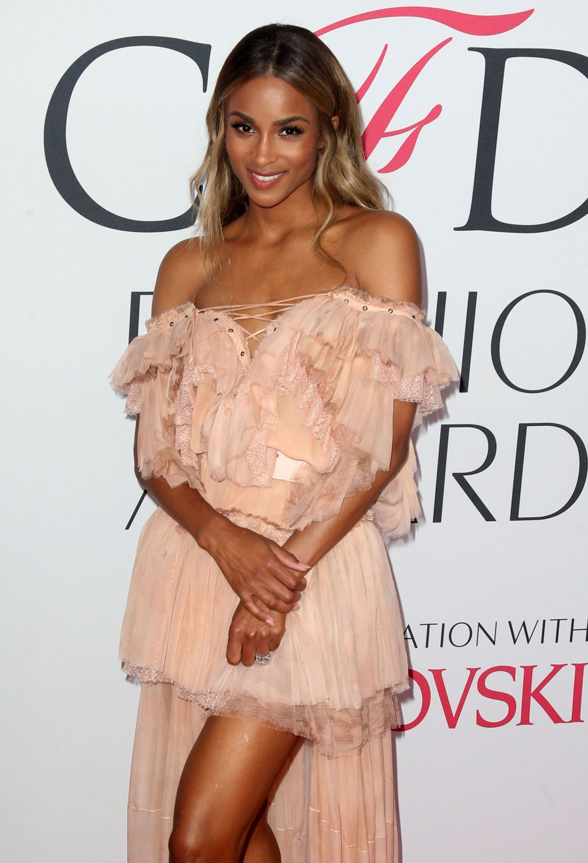 CIARA at CFDA Fashion Awards in New York 06/06/2016