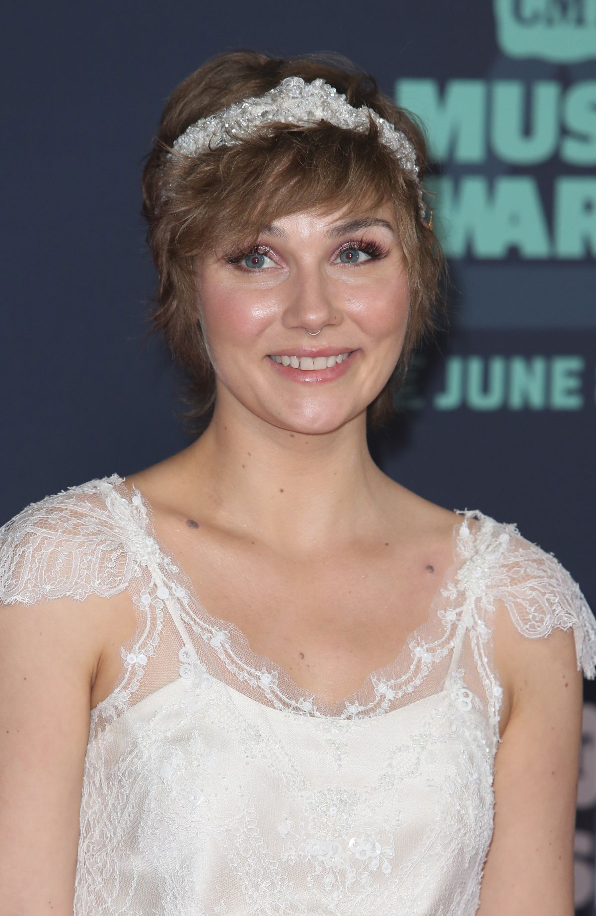 CLARE BOWEN at 2016 CMT Music Awards in Nashville 06/08/2016