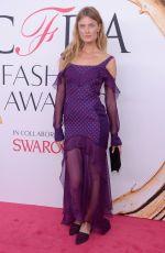CONSTANCE JABLONSKI at CFDA Fashion Awards in New York 06/06/2016
