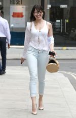 DAISY LOWE Out and About in London 06/22/2016