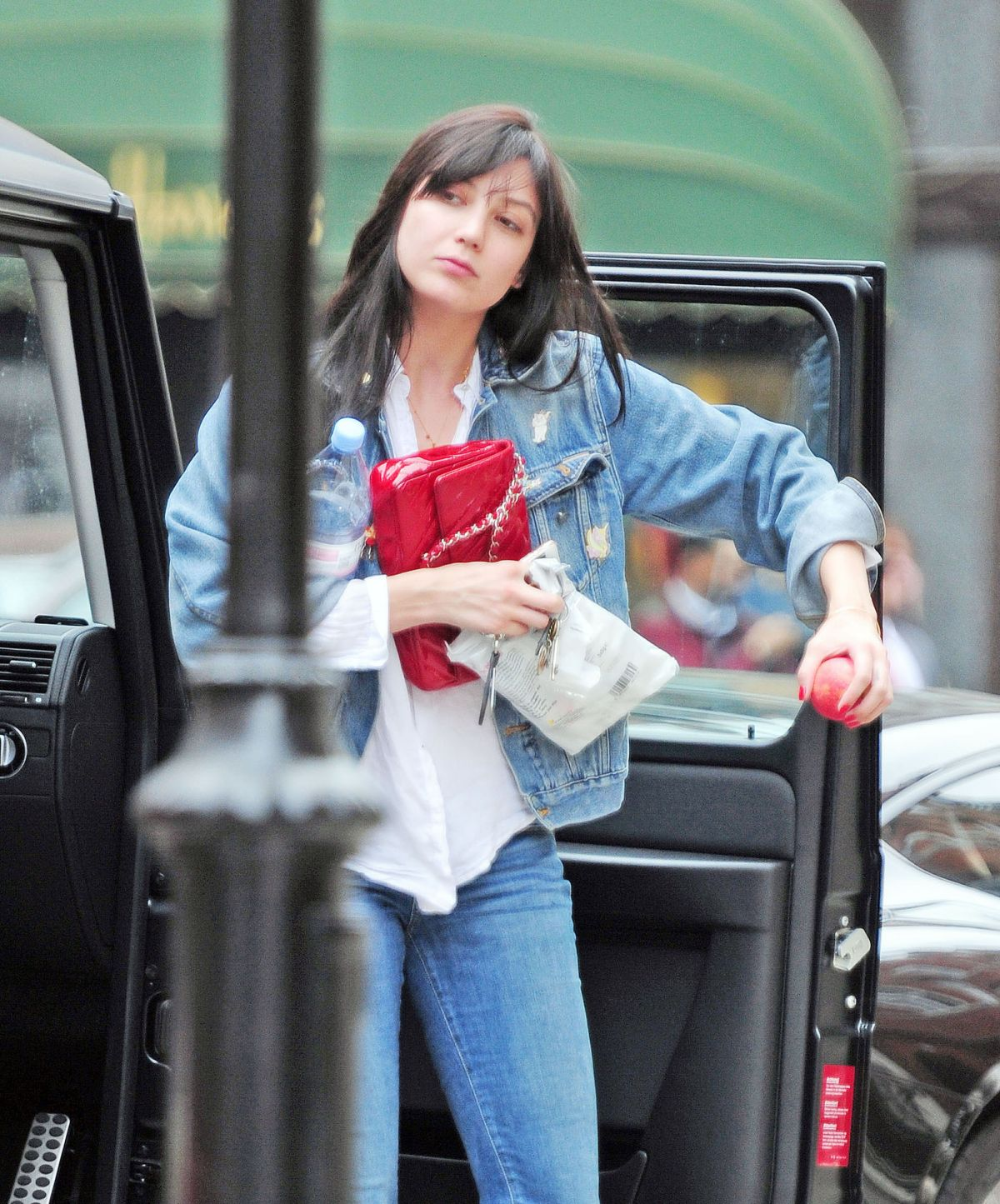 DAISY LOWE Out Shopping in London 06/05/2016