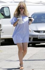 DAKOTA FANNING Out and About in Los Angeles 06/19/2016