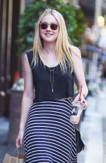 DAKOTA FANNING Out in New York 06/06/2016