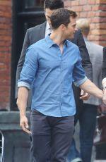 """DAKOTA JOHNSON on the Set of """"Fifty Shades Freed"""