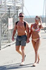 DANIELLE LLOYD in Bikini at Venice Beach in Los Angeles 06/16/2016