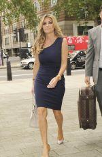 DAWN WARD Arrives at Marlybone Magistrates Court 06/10/2016