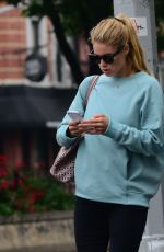 DOUTZEN KROES Out nd About in Soho 06/13/2016