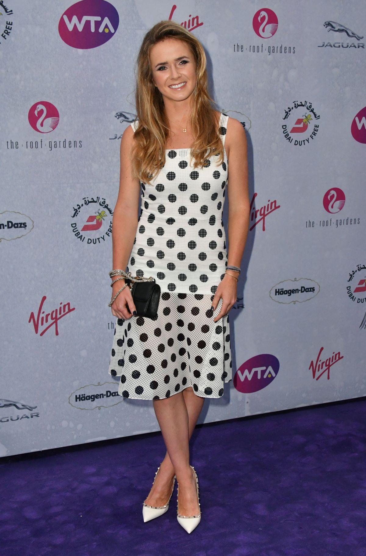 ELINA SVITOLINA at WTA Pre-Wimbledon Party in London 06/23 ...