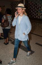 ELIZABETH BANKS at LAX Airport in Los Angeles 06/08/2016