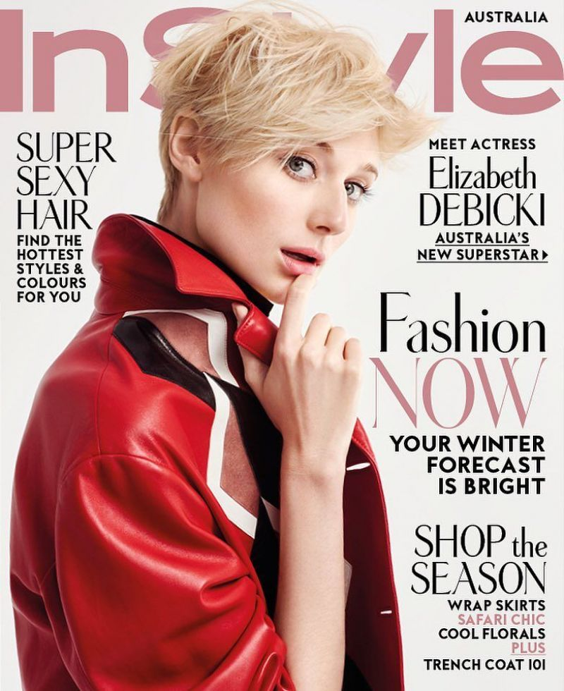 ELIZABETH DEBICKI in Instyle Magazine, Australia June 2016 Issue