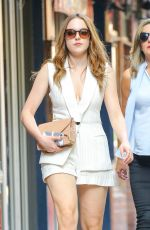 ELIZABETH GILLIES Out and About in New York 06/29/2016