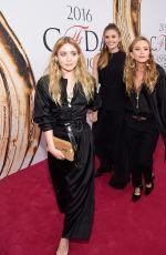 ELIZABETH, MARY-KATE and ASHLEY OLSEN at CFDA Fashion Awards in New York 06/06/2016