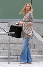 ELIZABETH MITCHELL on the Set of