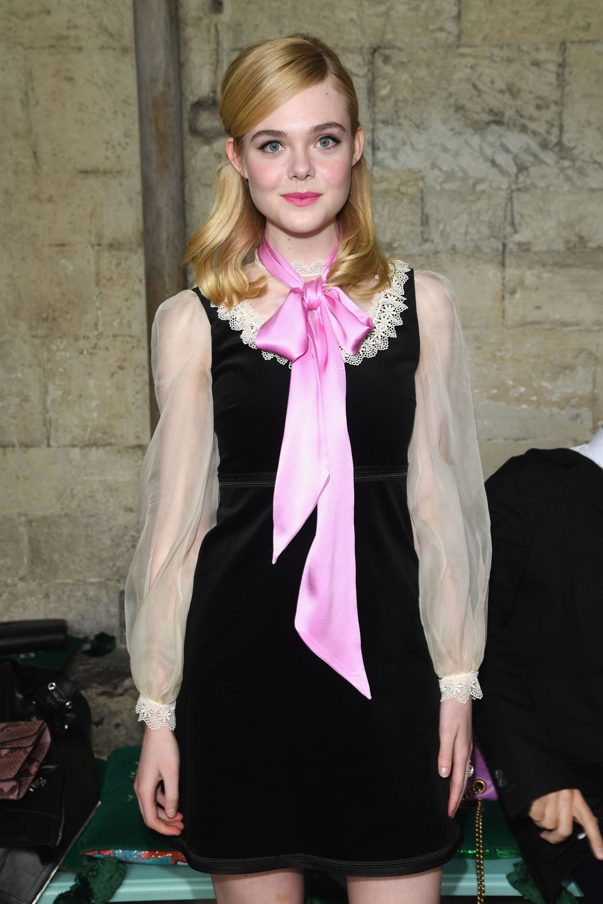 ELLE FANNING at 2017 Gucci Cruise Fashion Show in London 06/02/2016