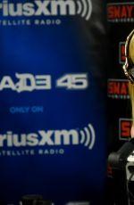 ELLE FANNING at SiriusXM Radio in New York 06/23/2016