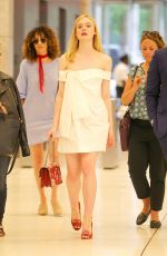 ELLE FANNING Out in New York 06/23/2016