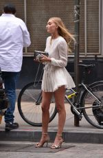ELSA HOSK Out and About in New York 06/13/2016