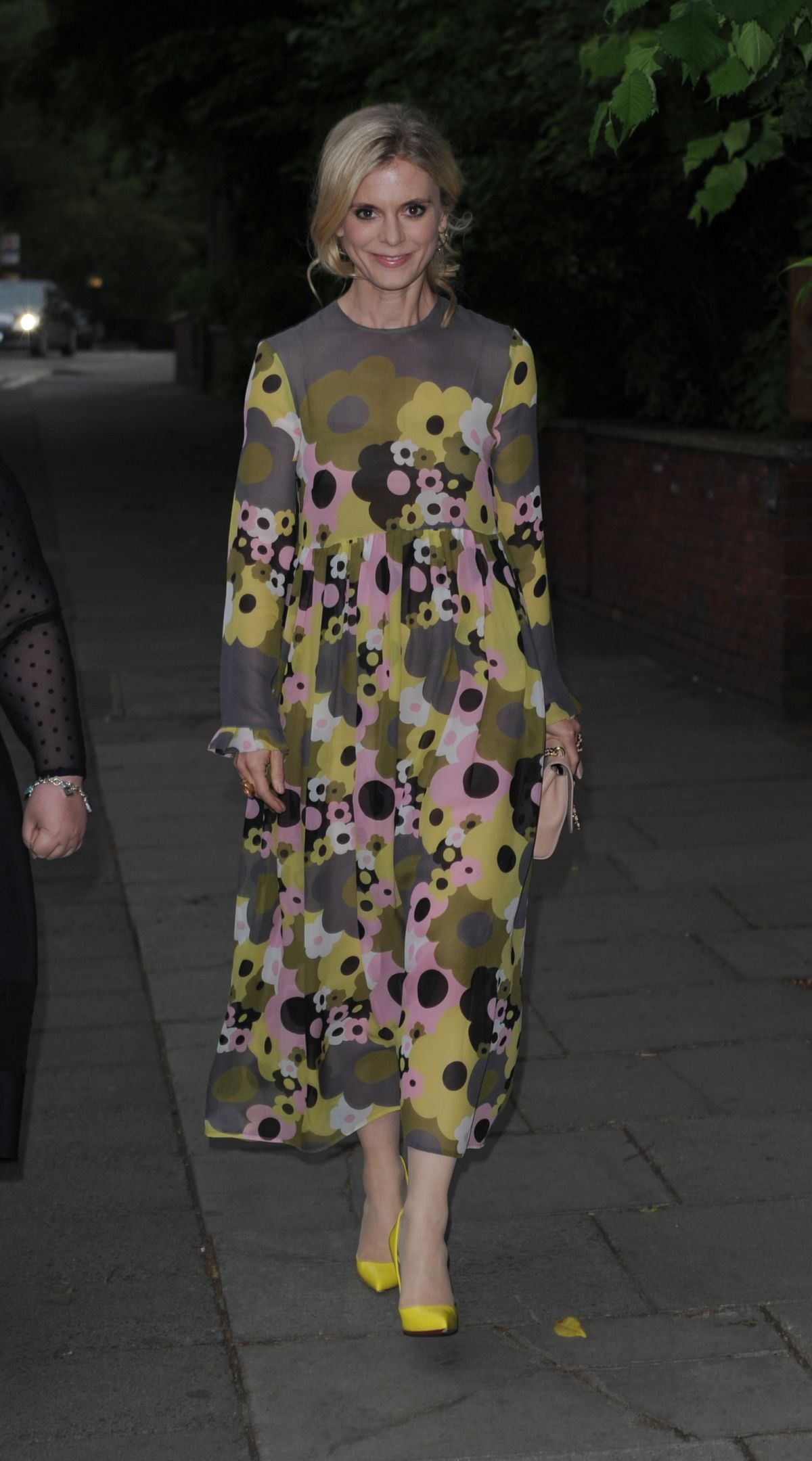 EMILIA FOX at Hope and Homes: End the Silence Gala in London 06/01/2016