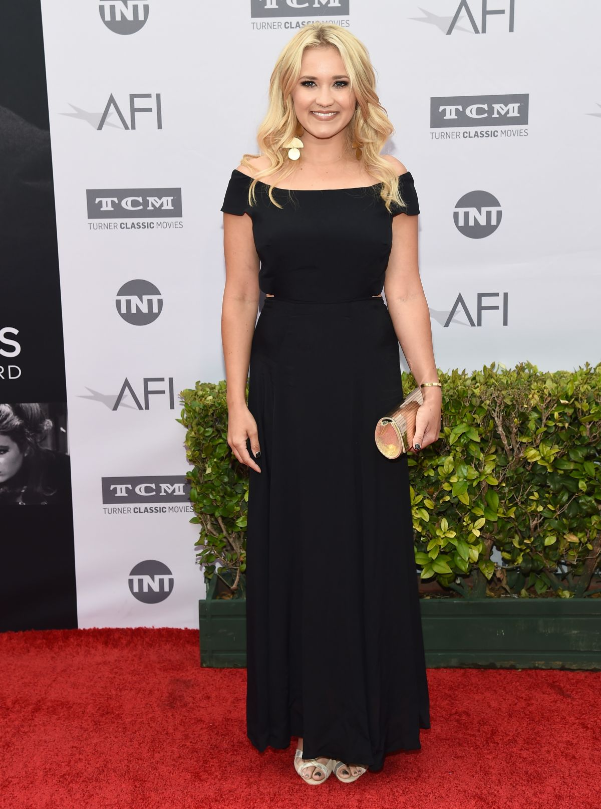 EMILY SOMENT at 44th Life Achievement Award Gala in Hollywood 06/09/201