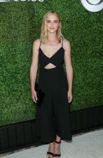 EMILY WICKERSHAM at 4th Annual CBS Television Studios Summer Soiree in West Hollywood 06/02/2016