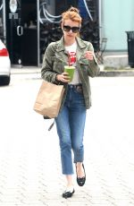 EMMA ROBERTS Out and About in Beverly Hills 06/09/2016