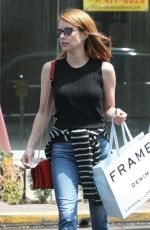 EMMA ROBERTS Out Shopping in West Hollywood 06/08/2016