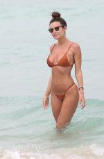 EMMA ROSE in Bikini on the Beach in Miami 06/16/2016