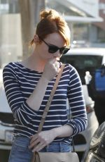 EMMA STONE Out and About in Los Angeles 06/08/2016