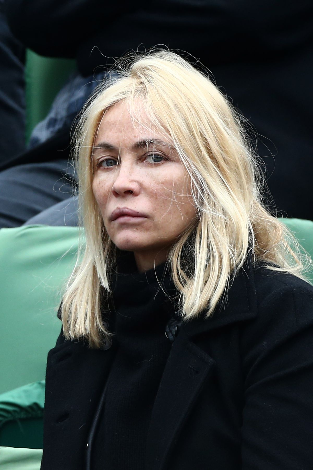 EMMANUELLE BEART at French Open at Roland-Garros Arena in ...