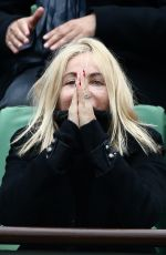 EMMANUELLE BEART at French Open at Roland-Garros Arena in Paris 06/03/2016